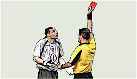 soccer red card rules football red cards offenses