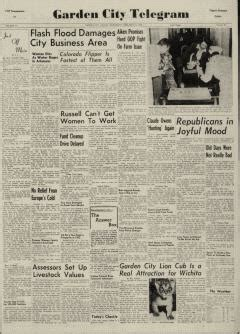 garden city newspaper garden city telegram newspaper archives feb 15 1956