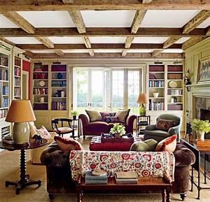 9, Charming, Farmhouse, Inspired, Living, Room, Design, Ideas