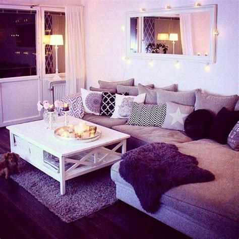 purple living room decorating ideas tumblr