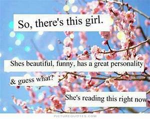 BEAUTIFUL GIRL QUOTES image quotes at hippoquotes.com
