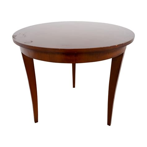 second hand table ls 90 off furniture masters furniture masters round wood