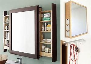 Miroir Salle De Bain Rangement : miroir placard salle de bain ~ Teatrodelosmanantiales.com Idées de Décoration