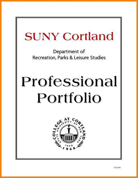 professional portfolio template professional portfolio cover page template listmachinepro