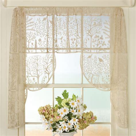 Curtains Kitchen Window Ideas - folk lace curtains sturbridge yankee workshop