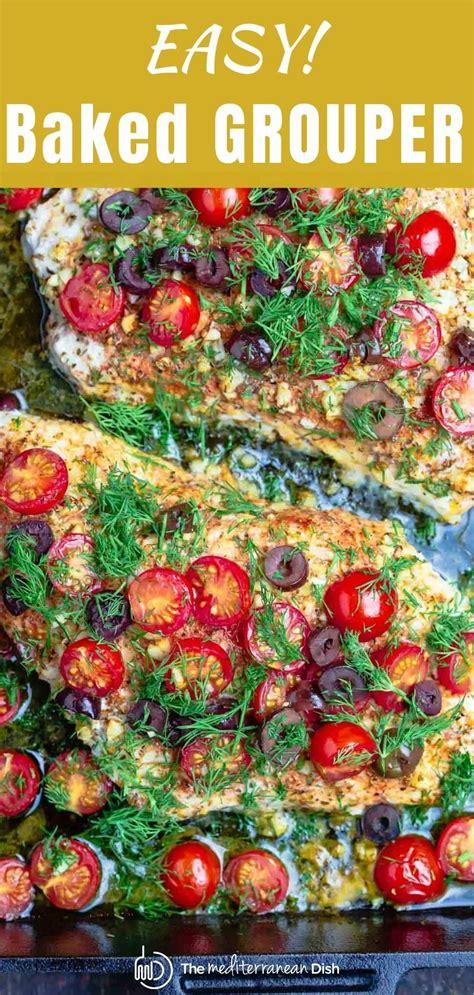 recipes grouper themediterraneandish keto dinner