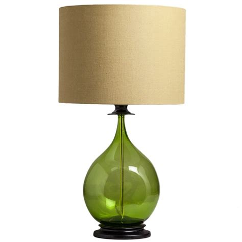green glass table lamps lighting  ceiling fans