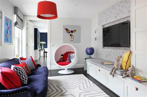 Kids Tv Room Ideas-contemporary-den/library/office