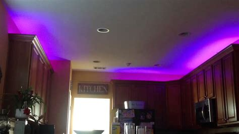 2 crown molding led lights kitchen cabinets