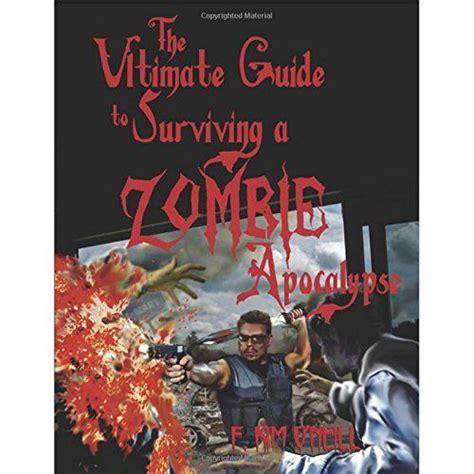 apocalypse surviving zombie guide books ultimate survive