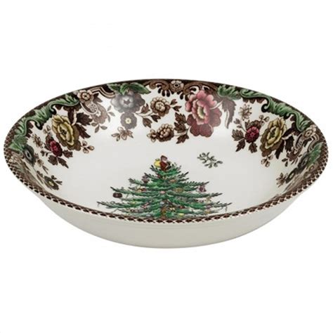 spode christmas tree grove cereal bowl 6 5 quot christmas dishes