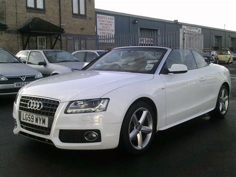 convertible audi used used 2009 audi a5 convertible 2 7 tdi s line diesel for