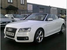 Used Audi A5 Convertible for Sale UK Autopazar
