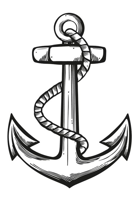 Vintage Anchor Drawing Ahoy me hearties! let's get nautical! - yarn | Anchor drawings