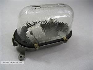 Lampe Industrial Style : 1 von 6 eow kellerlampe werksttatlampe wandlampe industrialdesign ddr ~ Markanthonyermac.com Haus und Dekorationen