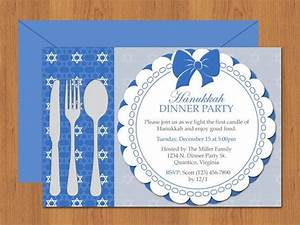 Free Editable Christmas Party Invitations Diy Do It Yourself Hanukkah Dinner Party Invitation