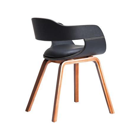 chaise designe chaise en bois costa walnut kare design