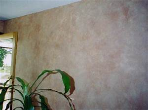 Faux finish projects terracotta glazed wall for Wall paint glaze ideas