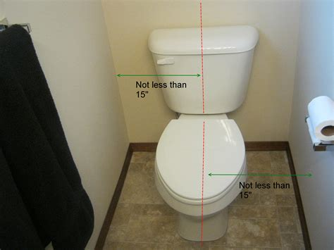 toilet clearance from wall residential code requirement for toilet clearance 6275