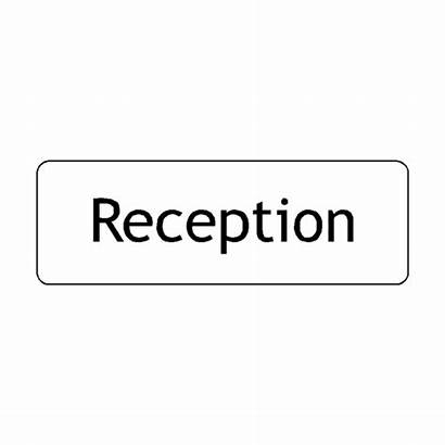 Reception Sign Door Signs Safety