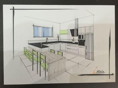 dessiner cuisine 3d dessin cuisine moderne cuisines inovconception