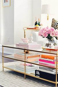 coffee table talk the pink dream With west elm terrace coffee table