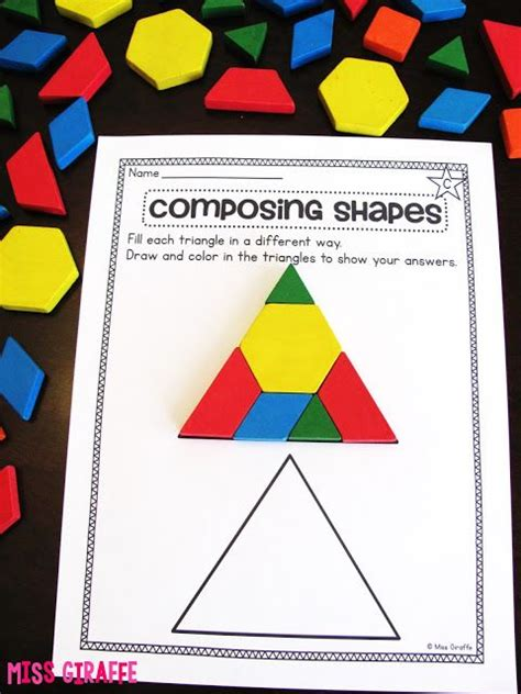 25 best ideas about pattern blocks on shape