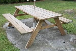 Table Bois Pique Nique : une rallonge de banc pour table pique nique ~ Melissatoandfro.com Idées de Décoration
