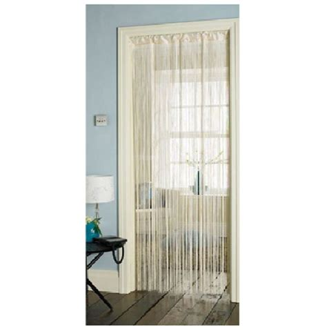 Hang Curtain Rods by String Curtains For Doors Windows Dividers Fly Screen