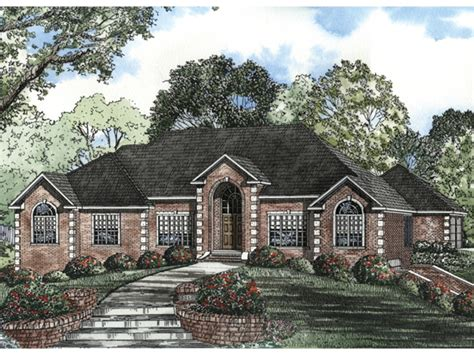 brick ranch style house plans country style brick homes all brick house plans mexzhouse com