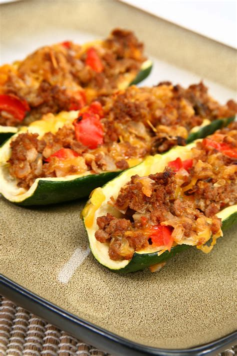 Recipes  Meats, Main Dishes, & Vegetables  Zucchini Boats