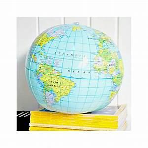 Globe Terrestre Enfant : cadeau enfants globe terrestre gonflable ~ Teatrodelosmanantiales.com Idées de Décoration