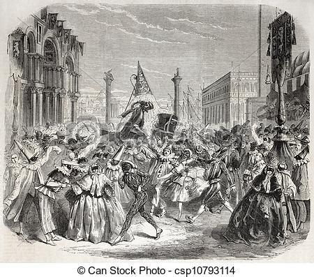 clipart carnevale gratis clipart di venezia carnevale vecchio illustrazione di