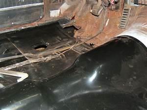1970 Chevelle Floor Pan Getting Seam Sealer