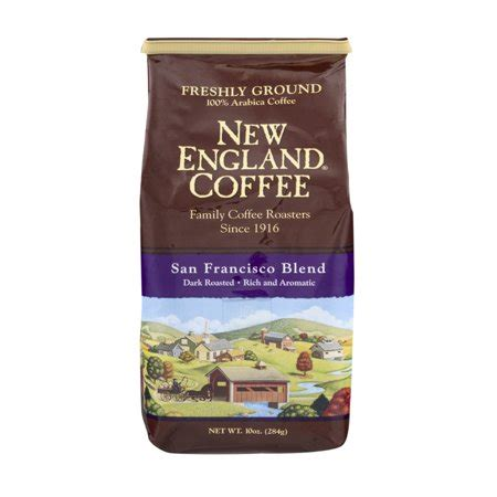New England Coffee San Francisco Blend Dark Roasted