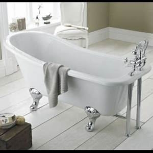 Badewanne Auf Füßen : hudson reed freistehende badewanne kensington mit f en h he 730 mm x l nge 1700 mm lucite ~ Orissabook.com Haus und Dekorationen
