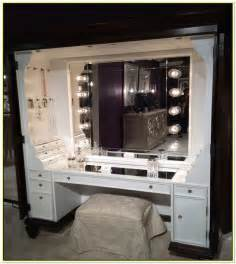 hollywood style dressing table mirror with lights home