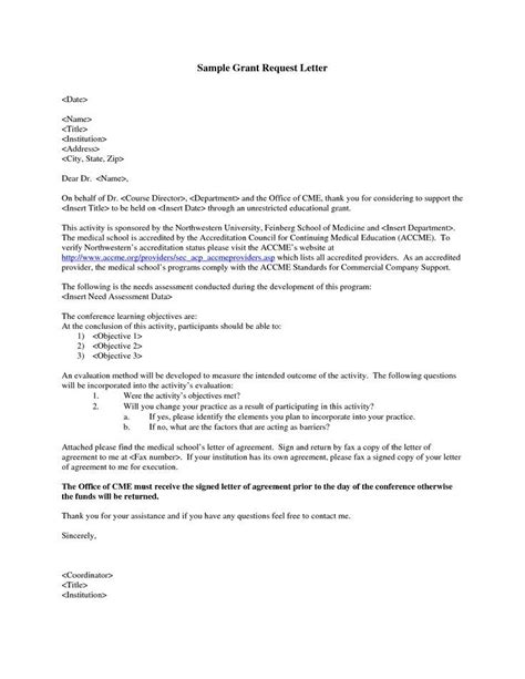 image result  letter  grant request  education