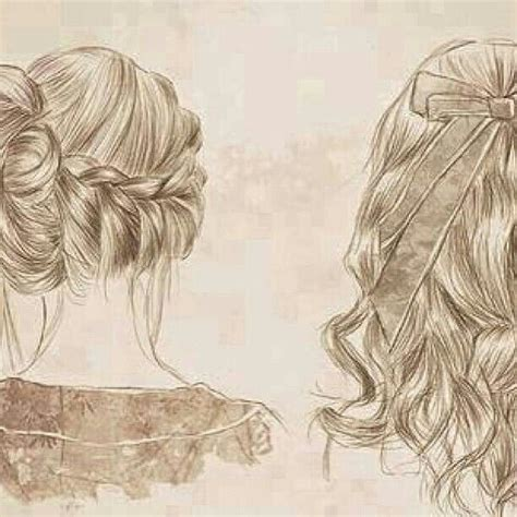 hairstyle drawing cool  cute pinterest hairstyles