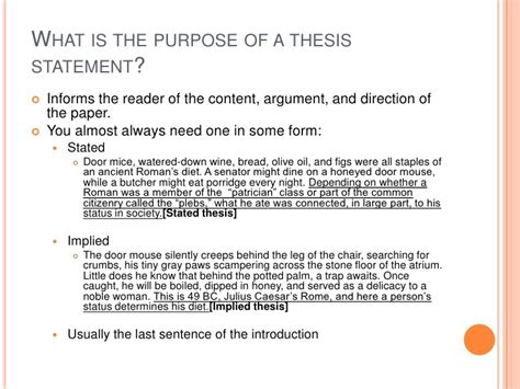 Thesis statement for immigration paper
