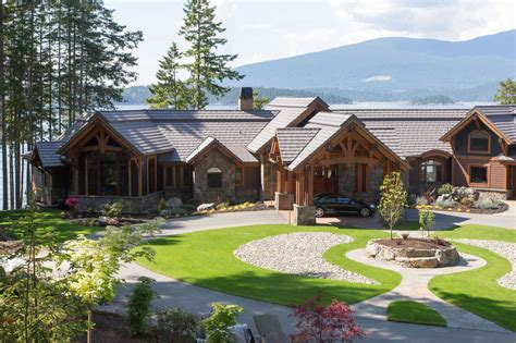 luxury custom home floor plans timber frame home construction
