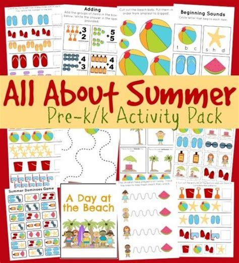best 20 preschool summer theme ideas on 143 | 5d128a2cde70df28e6333ef73c295d1f preschool summer work packet summer time theme preschool