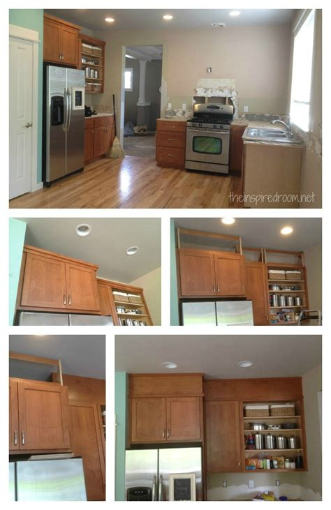 space above kitchen cabinets ideas filling in that space above the kitchen cabinets