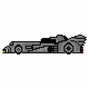 Pixel Art Voiture De Sport : pixel batmobile voiture de cin ma s rie t l pinterest ~ Maxctalentgroup.com Avis de Voitures