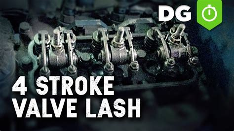 set valve lash    cylinder engine youtube