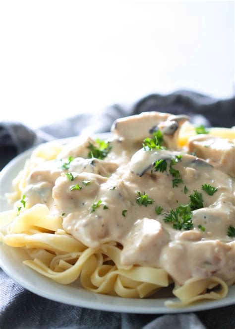 Skinny Chicken Alfredo Recipe - My Recipe Magic