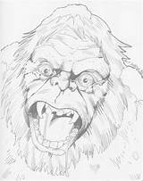 Snowman Abominable Drawing Yeti Realistic Sketch Goosebumps Pencil Colorful Characters sketch template