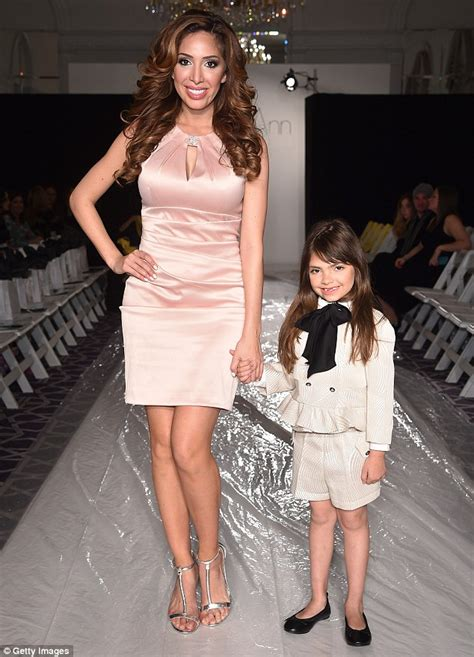 Farrah Abraham Plans To Teach Daughter Sophia About Sex By