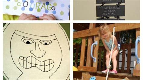 teaching kids  courage activities teaching  crafts