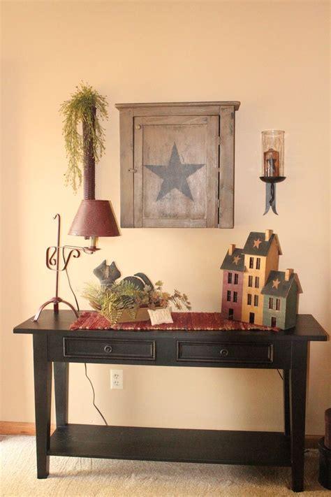 primitive country home decor primitive country decor living room entryway diy